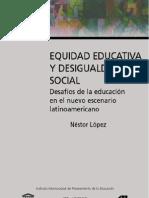 Equidad Educativa y Desigualdad Social 1202943961578972 3