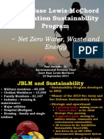 JBLM Sustainability and Net Zero Presentation 11-09-14