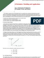 BME 456_ Mathematical Preliminaries