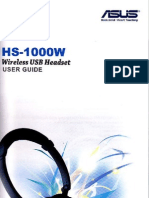 Asus Headset HS1000W