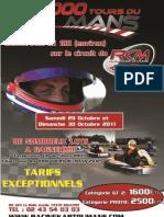 1000 Tours Du Mans - Octobre 2011