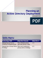 Planning an Active Directory Server Deployment