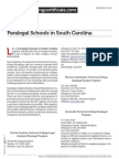Paralegal Schools in South Carolina