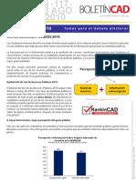 USO DE RECURSOS PÚBLICOS 2010