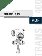 siemens sitrans LR 400