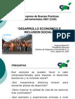 Desarrollo Economico e Inclusion Social - Gp