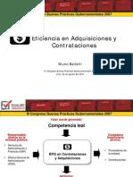 Eficiencia en Adquisiciones y Contrataciones - GP