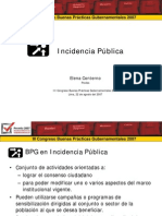 Incidencia Pública - GP