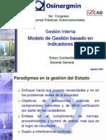 Modelo de GestiON Por Indicadores -GP