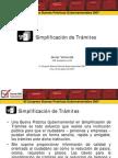Simplificación de Trámites - GP
