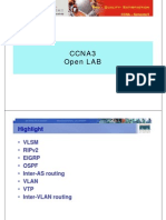 Ccna3 Open Lab