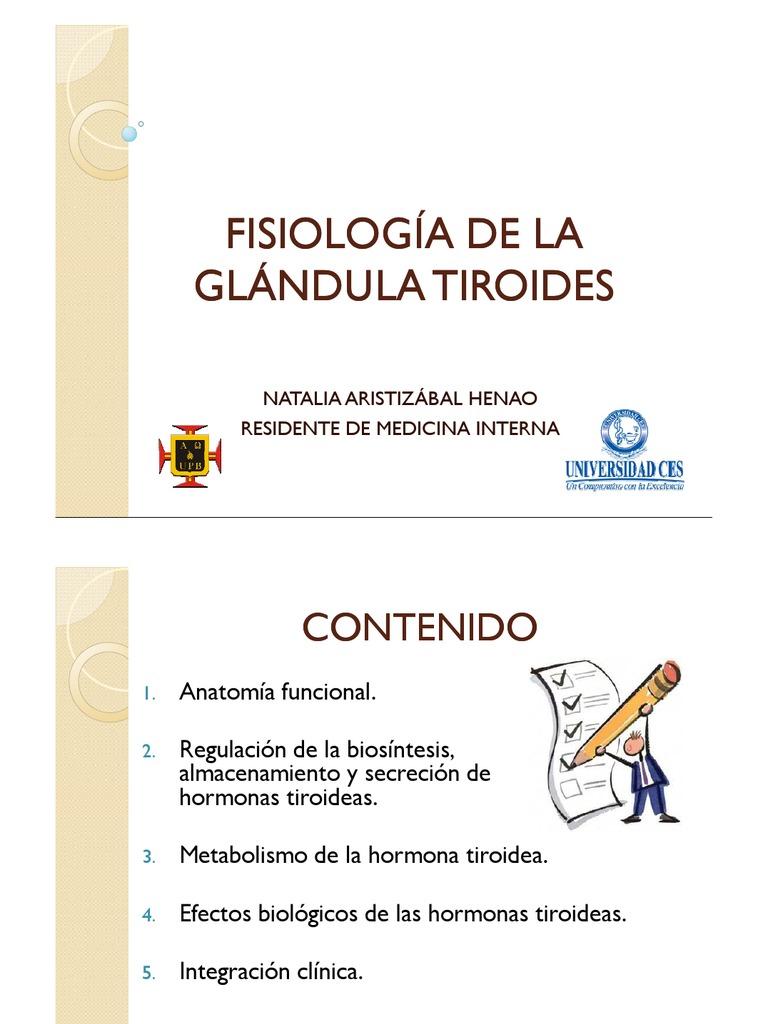 Magnífico Tiroidea Anatomía De La Glándula Y La Fisiología Pdf ...
