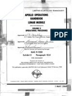 Apollo Operations Handbook LM 5 and Subsequent Vol II