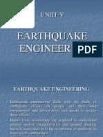 Earthquake Engineering Unit-V