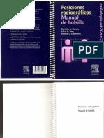 Manual de Bolsillo de Posiciones Radiograficas