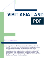 Asia Land and Climate