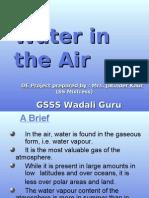 Water in Air