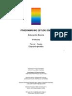 PROGRAMA 3°