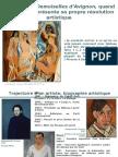 Picasso Demoiselles d'Avignon
