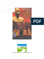 Christian Jacq; Juíz do Egito III - A Justiça do Vizir