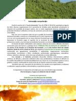 1ra Gacetilla de Difusion Jornada Por Los Bosques de Cordoba