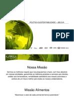 Politica Sustentabilidade JBS Power Point