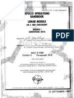 Apollo Operations Handbook LM 6 and Subsequent Vol I