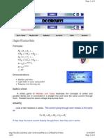 Ch19 - Resistors in a Circuit