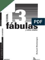 13 fábulas y otros relatos