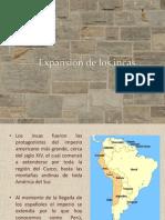 Expansión de los incas