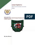 Organized Crime and Its Strategic Dominion in Mexico and Central America