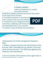 Functions of a Travel Agency