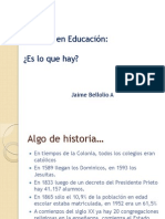 acuerdo en educación_Chile