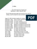 CRE  important dates.doc