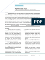 Management of supraerupted teeth
