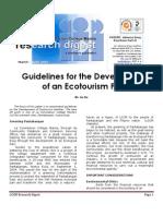 LCCM Research Digest (March-April 2007)