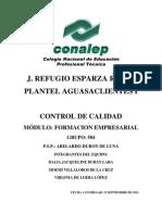 I.2 FORMACION EMPRESARIAL