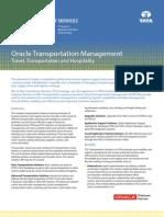 TTH Brochure TCS Oracle Transportation Management Solutions 01 10