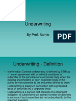 Investment Banking Underwriting