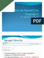 Instrucciones OpenCV y C