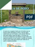 agua de pozo
