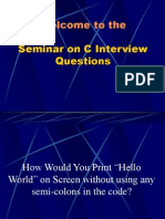 C Interview Questions 2
