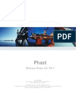 Phast 6 7 Release Notes
