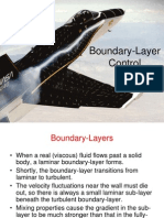 Boundary Layer Control