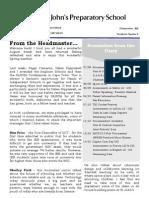 Prep Newsletter No 9 2011