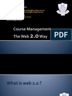 Moodle and Web 2.0