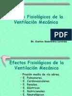 Fisiología y Ventilación Mecánica
