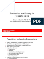 Housekeeping Sanitation and Safety