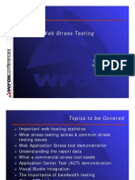Web Stress Testing