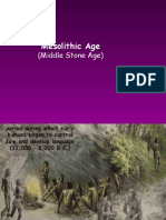 Mesolithic Age